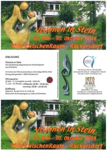 Ausstellung-Visionen in Stein-Villa Zwischenraum